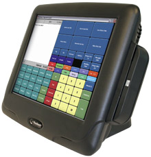 NCR Quest Q1515 touch screen point of sale terminal